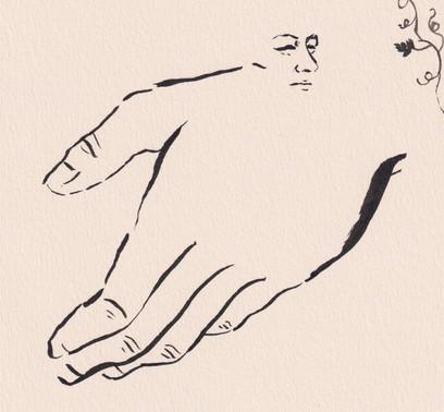 monsieur main, créature accidentelle