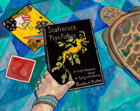 Chloe, seahorses & pipefishes, 2020