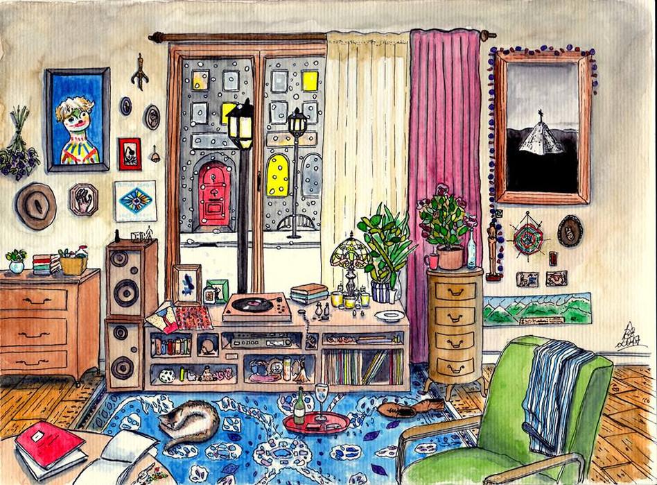 Chambre imaginaire n°1, 2017