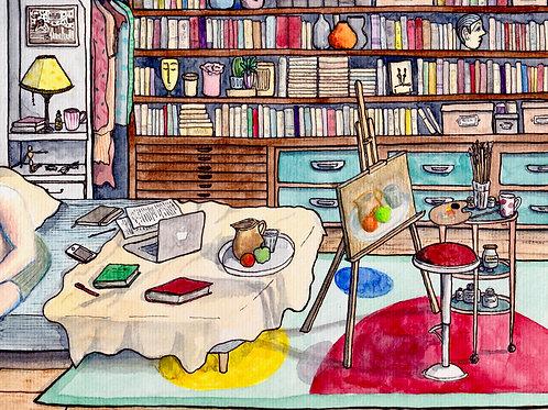 Carte postale - Chambre n°28