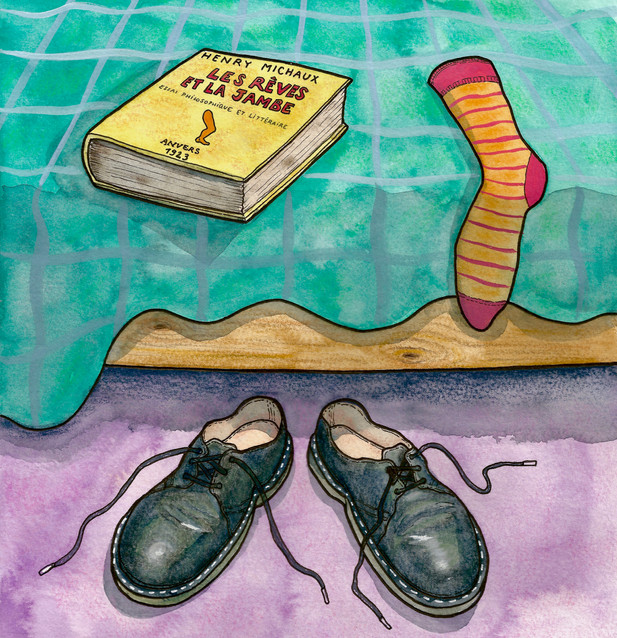remember shoes? chambre 43