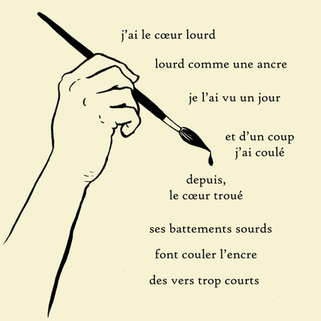 couler l'ancre