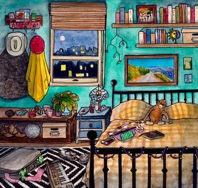 Les amoureux vagabonds Chambre n°29