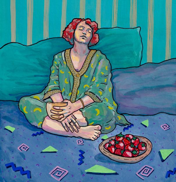 Les fraises, chambre n°61