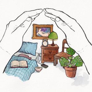 la main-sarde, chambre n°69