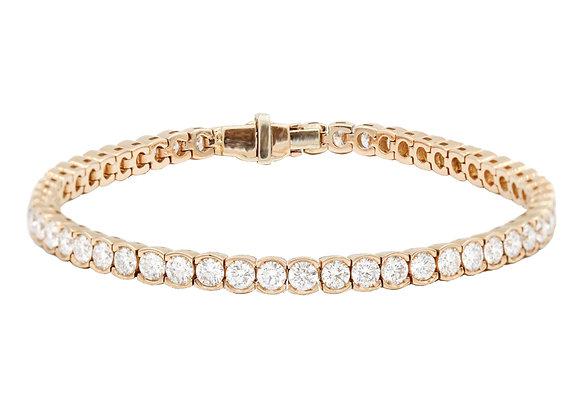 Tennis Armband Rosegold