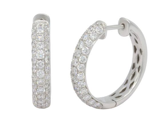 Diamant Creolen
