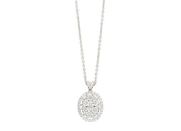 Diamant Amulett