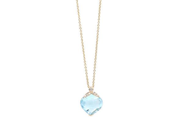 Topas Diamantkette