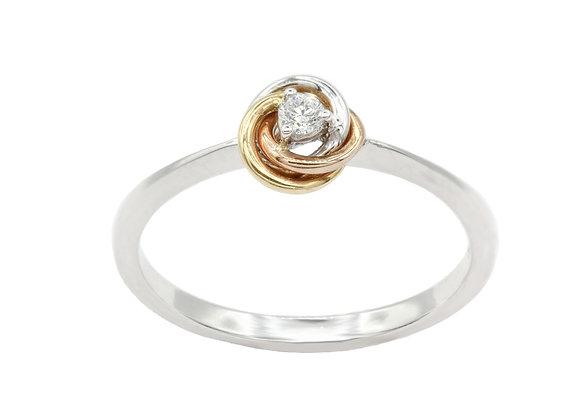 Tri Colore Ring