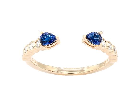 Saphir Ring
