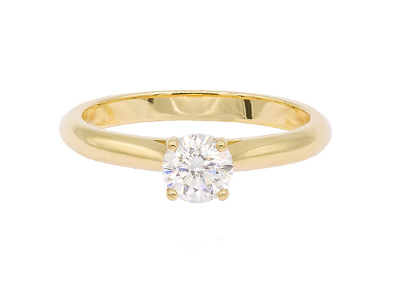 Solitaire Gelbgold