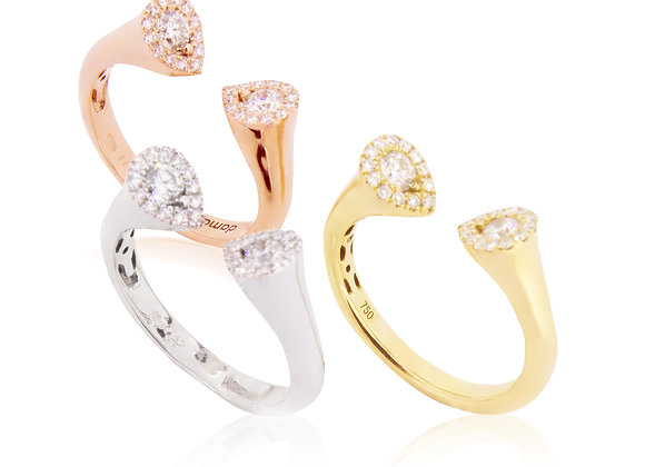 Tricolor Rings
