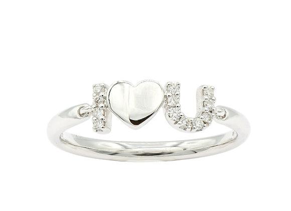 I <3 U Ring