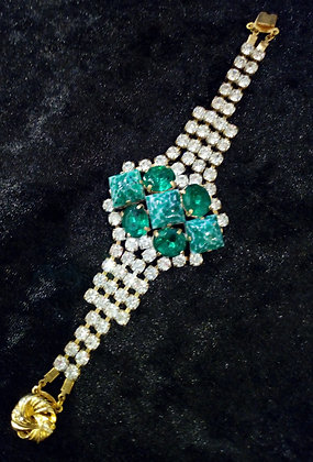 Bracelet cristal retro
