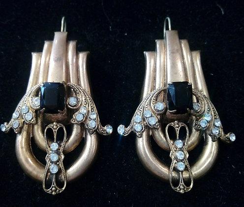 Boucles d'oreilles baroques