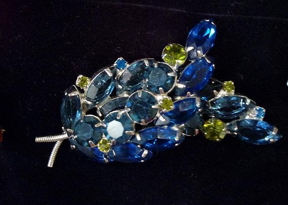 Broche cristal