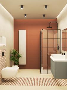Modernistyczna łazienka