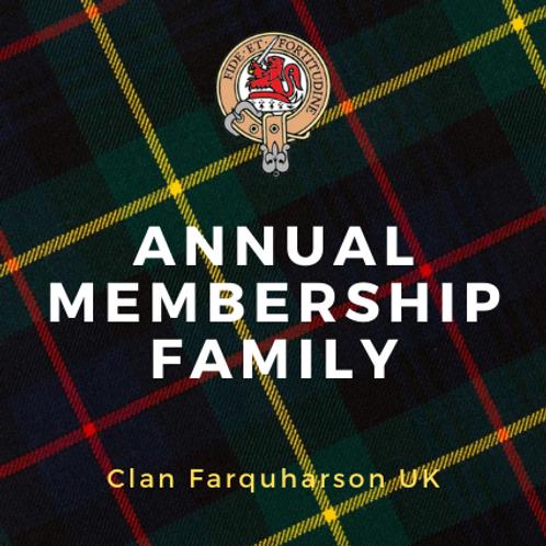 Annual Membership Family