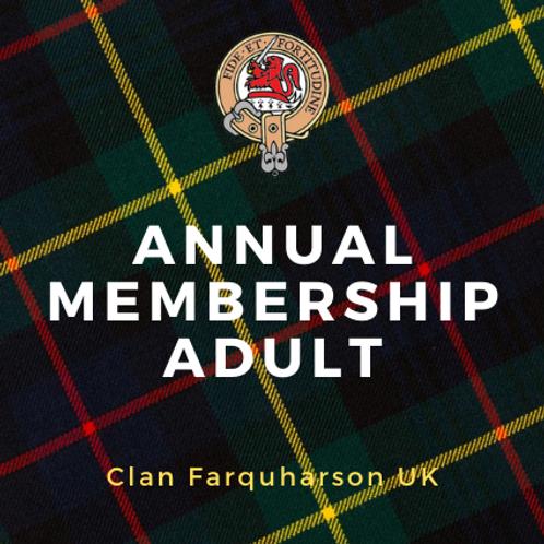 Annual Membership Adult