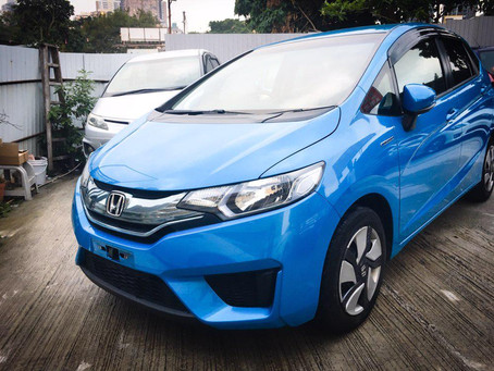 2013 HONDA FIT HYBRID 1.5 AT SPOON BLUE
