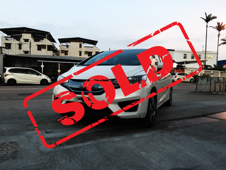 SOLD (2013 HONDA FIT HYBRID 1.5 AT)