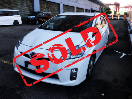SOLD (2011 TOYOTA PRIUS S 1.8 AT)