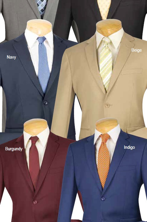 2 button suit, slim fit  #us900-1