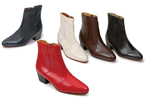 giorgio boot spanish kid skin cuban heel