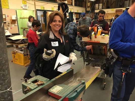 Carol Ann Wentworth At Marin Builders Association