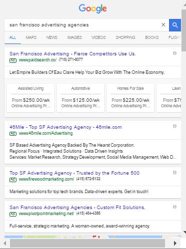 San Francisco Advertising | 2016