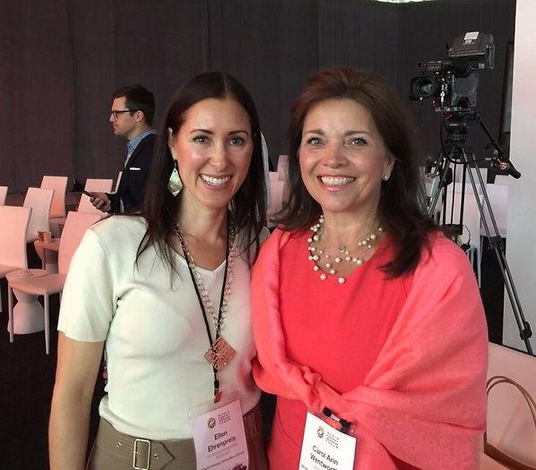 Ellen Ehrenpreis, Co-founder of the World Energy Forum, at Tesla & Carol Ann Wentworth