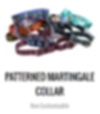 Patterned Martingale Dog Collars | Patterned Nylon Martingale Dog Collars