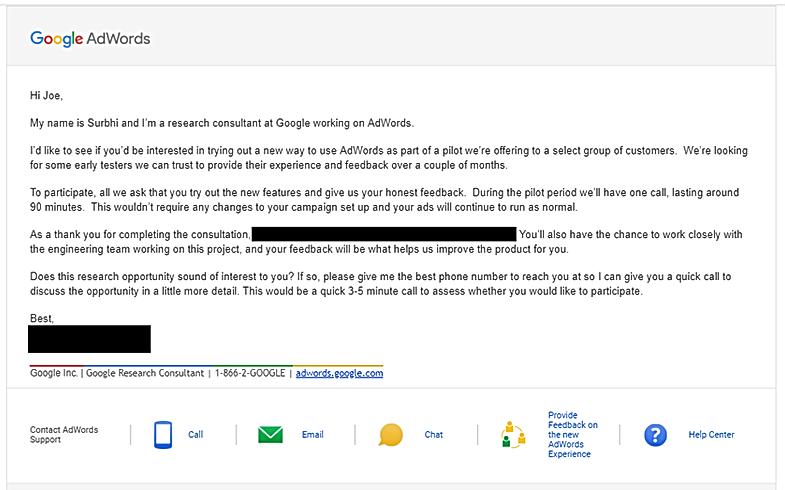 Google Adwords Alpha - Empire Collaborat