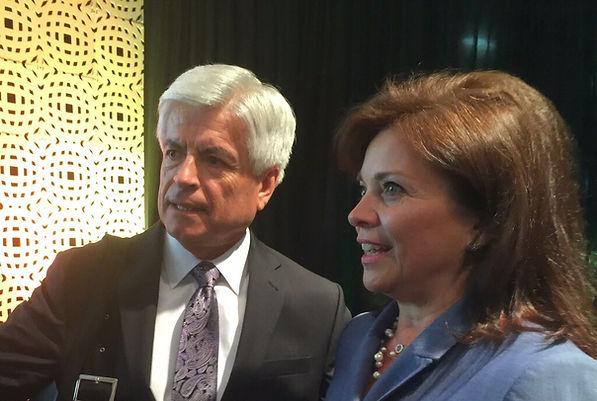 Dan Arvizu, Director, National Renewable Energy Laboratory & Carol Ann Wentworth