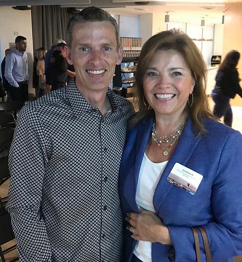 Carol Ann Wentworth at California Recruiters Meeting