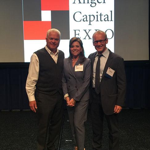 Randy Williams, founder and CEO of Keiretsu Forum & Carol Ann Wentworth