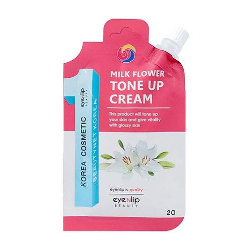 Eyenlip Крем для лица осветляющий Milk Flower Tone Up Cream