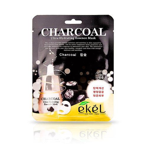 EKEL Маска с древесным углем Charcoal Ultra Hydrating Mask