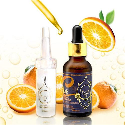 Elizavecca Пудра и омолаживающая сыворотка  Vitamin C 100% Powder + Vita Serum