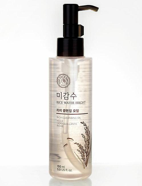 The Face Shop Rich Cleansing Oil Гидрофильное масло с экстрактом риса