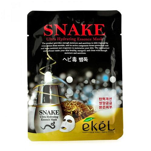 EKEL Маска тканевая с пептидом змеиного яда