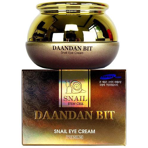 Daandan Bit Антивозрастной крем с муцином улитки для кожи вокруг глаз