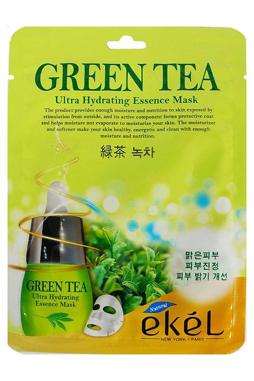 EKEL Маска с экстрактом зеленого чая