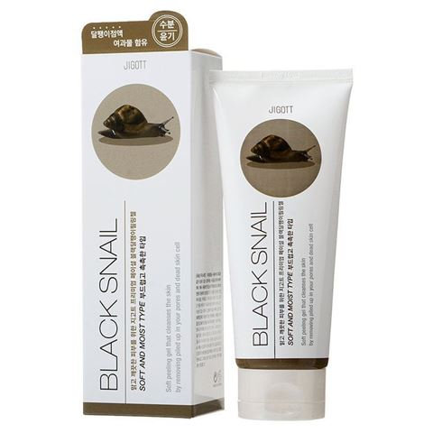 Jigott Гель-пилинг с экстрактом улитки Premium Facial Peeling Gel