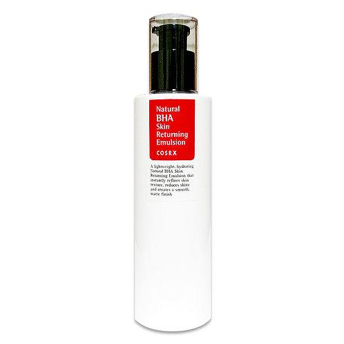 CosRX Очищающая эмульсия с BHA-кислотами Natural BHA Skin Returning Emulsion