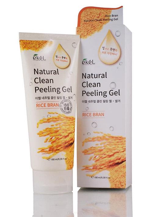 EKEL Пилинг-скатка с натуральными экстрактами Natural Clean Peeling Gel