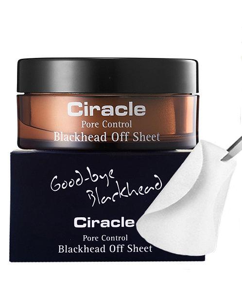CIRACLE Салфетки от черных точек Blackhead Off Sheet