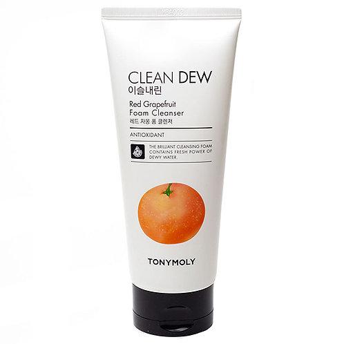 Tony Moly Пенка для умывания грейпфрут Grape Fruit Clean Dew Red Foam Cleanser