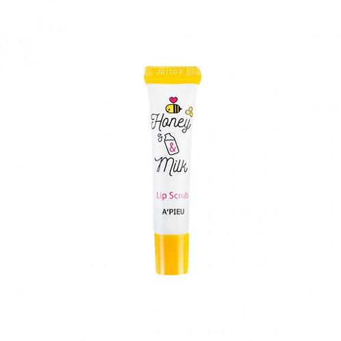 A'Pieu Скраб для губ Honey And Milk Lip Scrub